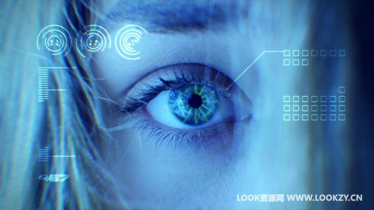 AE教程-Mocha+After Effects 眼球跟踪合成特效科技元素视频教程