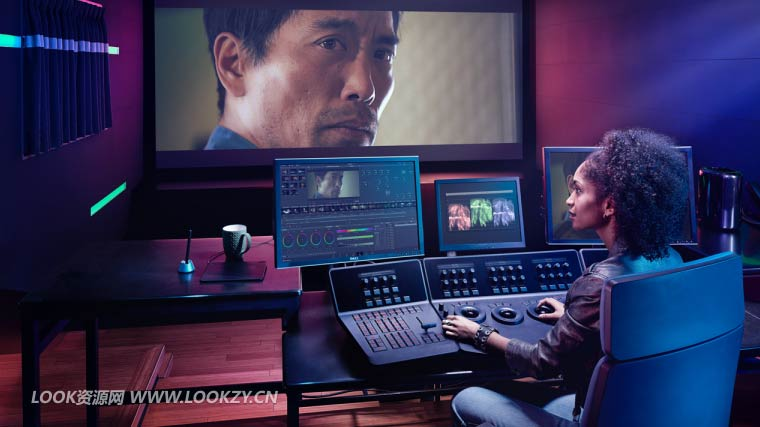 达芬奇高级剪辑调色软件DaVinci Resolve Studio 16.0.0.60 Win中文/英文破解版