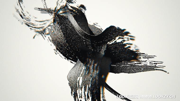 C4D预设-280款艺术创意水墨贴图笔刷预设包(含演示工程)