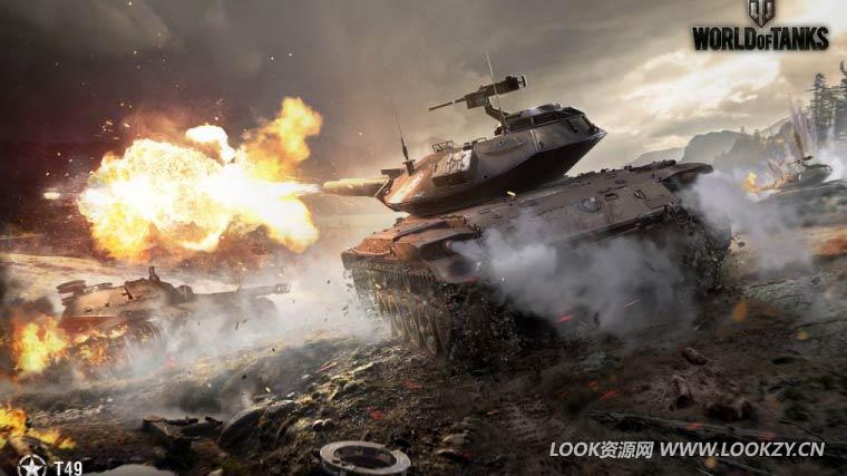 C4D模型-397套C4D战争网游《坦克世界》游戏模型下载