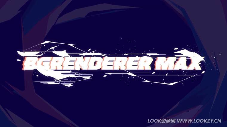 AE脚本-多线程加速渲染输出文件 BG Renderer MAX v1.0.5 WIN/MAC