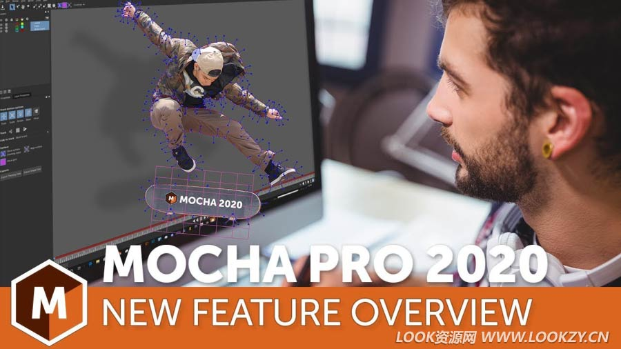 Nuke/达芬奇/Vegas/OFX三维摄像机反求跟踪插件 Mocha Pro 2020 v7.0.1 Build 55