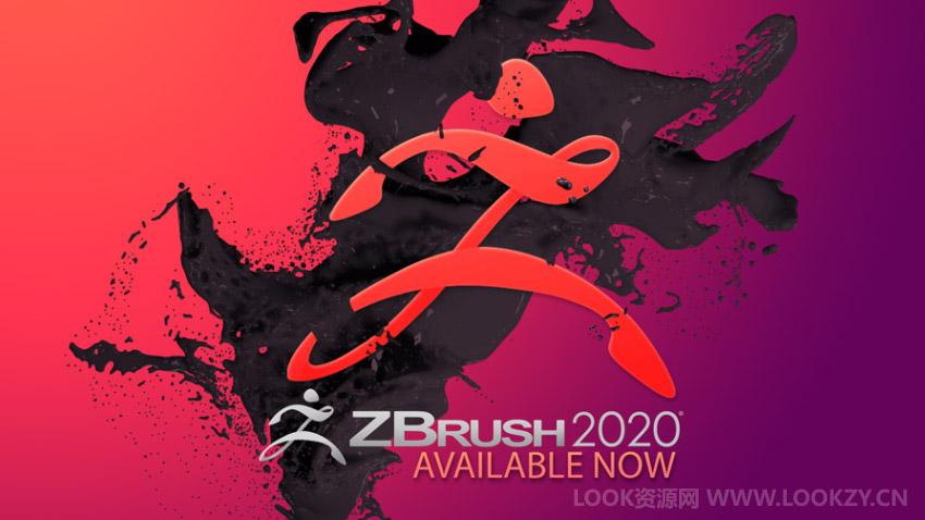 三维雕刻建模软件 ZBrush 2020 WIN英文/中文破解版