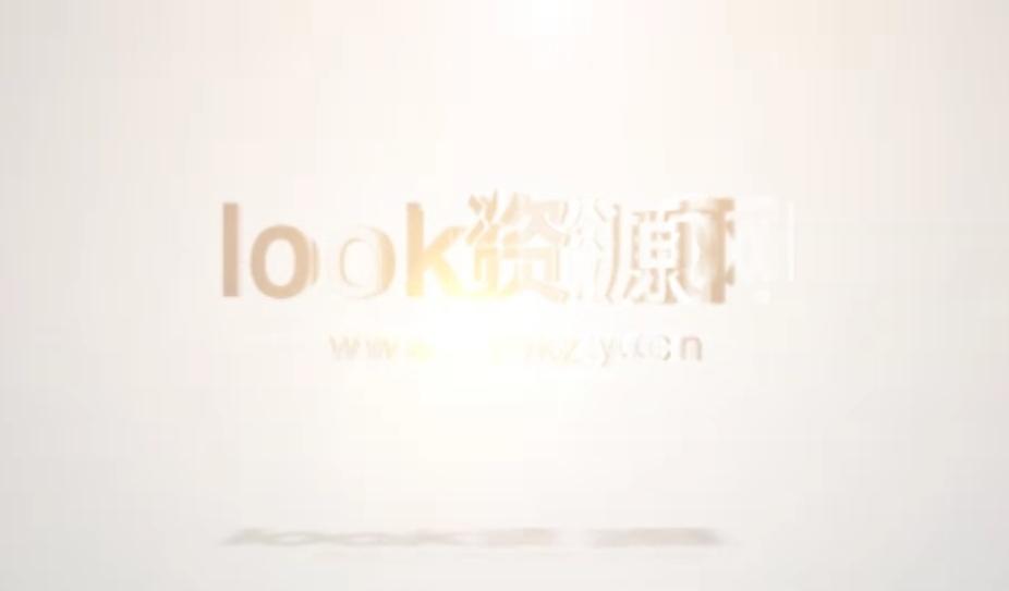 光影logo落版 清新风格